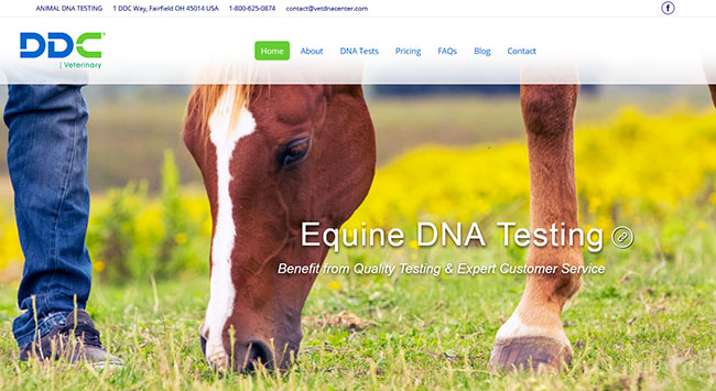 DDC Veterinary Homepage