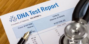 DNA test report