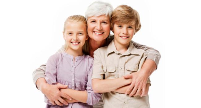 EasyDNA relationship dna test grandmother with children