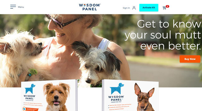 Wisdom Panel homepages