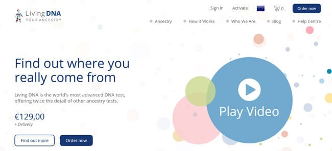 homepages Living DNA