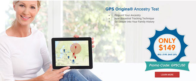 GPS-Origins homepage
