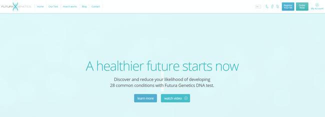 Futura Genetics homepage
