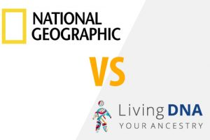 National Geographic Ancestry Test VS Living DNA