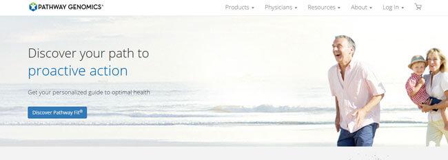 Pathway Genomics homepage