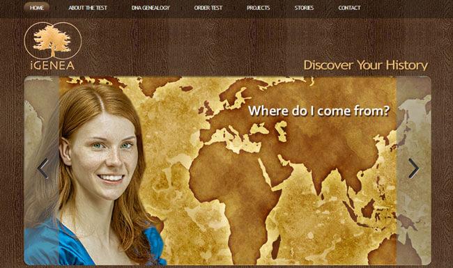 iGENEA homepage