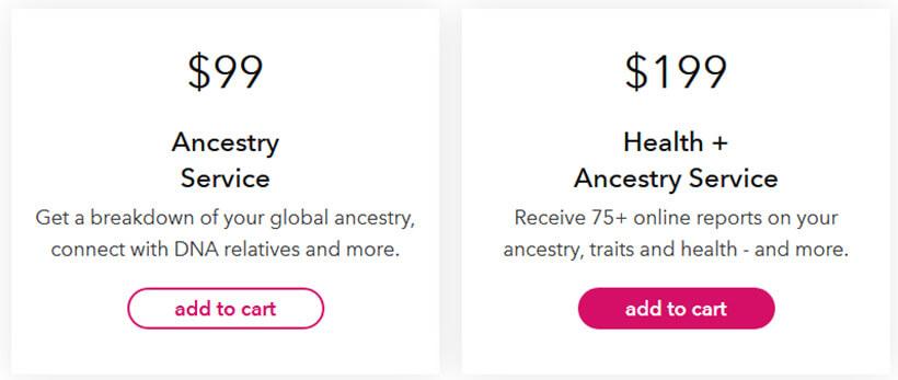 23andMe price