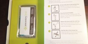 AncestryDNA Testing Kit What's Inside It