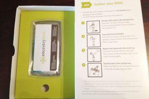 AncestryDNA Testing Kit What's Inside It