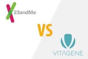 23andMe VS Vitagene