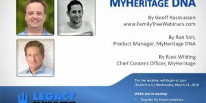 Hands On With MyHeritage Webinar