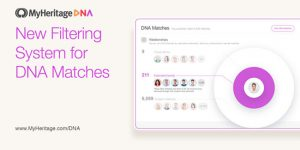 MyHeritage Introduces New Filtering System For DNA Matches
