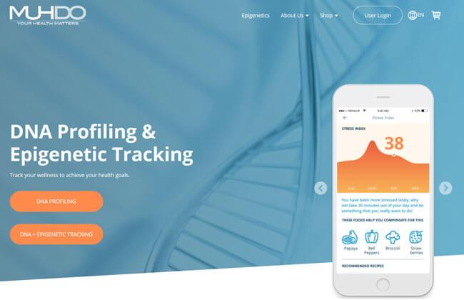 Muhdo printscreen homepage
