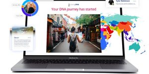 Living DNA Introduces on laptop